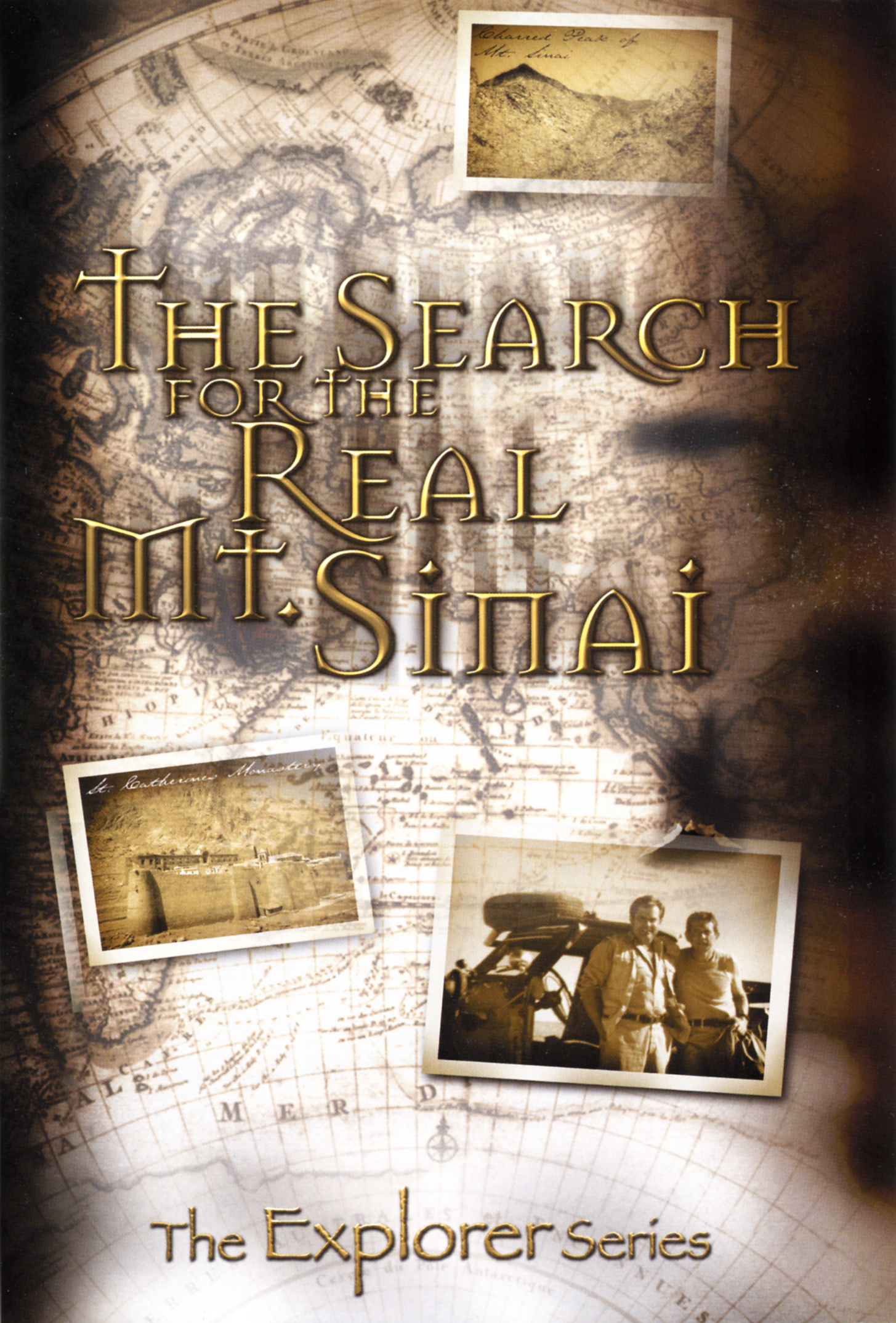 THE SEARCH FOR THE REAL MT  SINAI EXPEDITION MAP