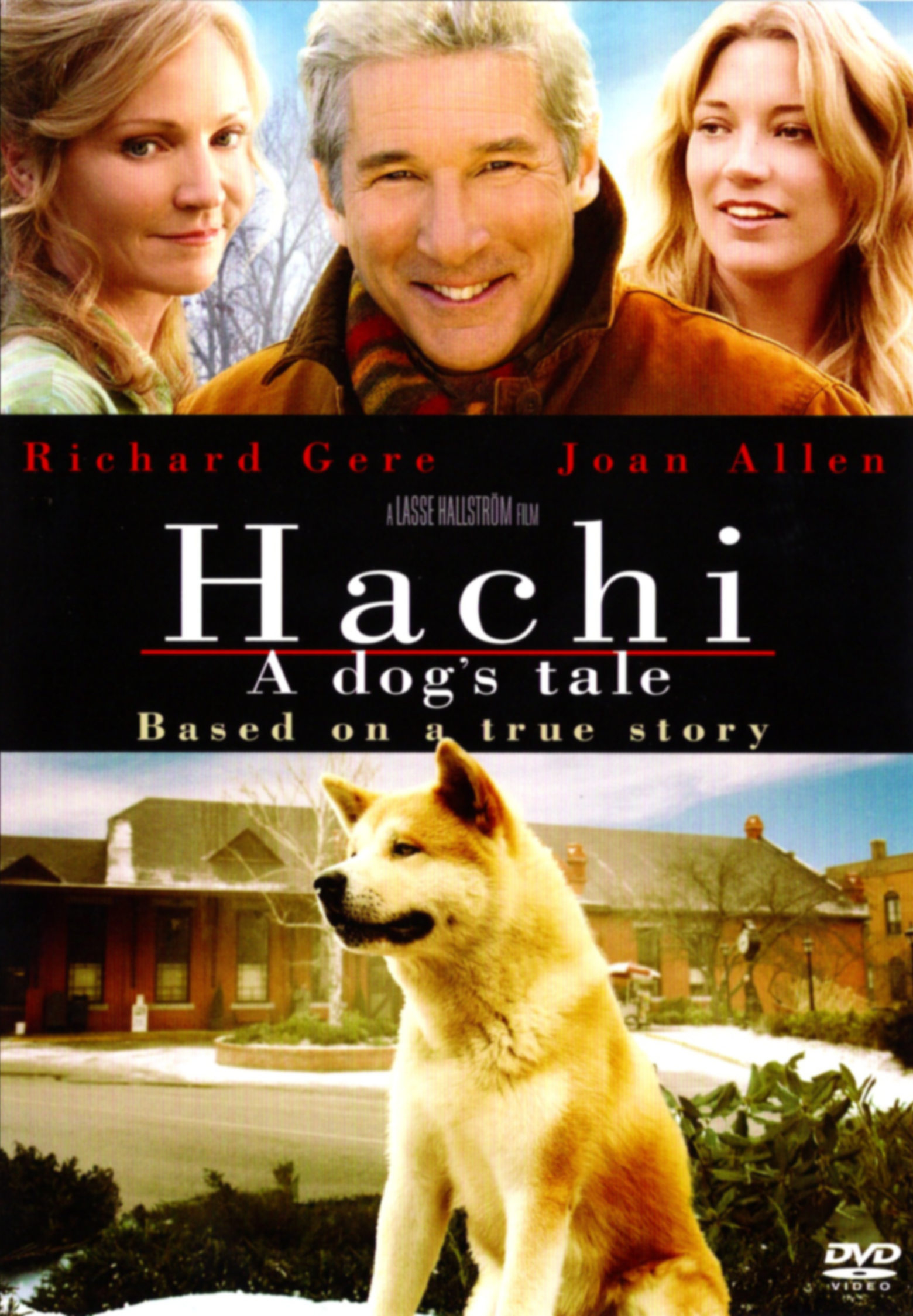 Hachi A Dog's Tale- DVD