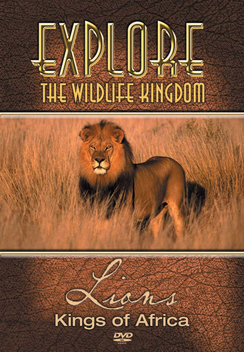 Explore The Wildlife Kingdom : LIONS Kings of Africa - DVD