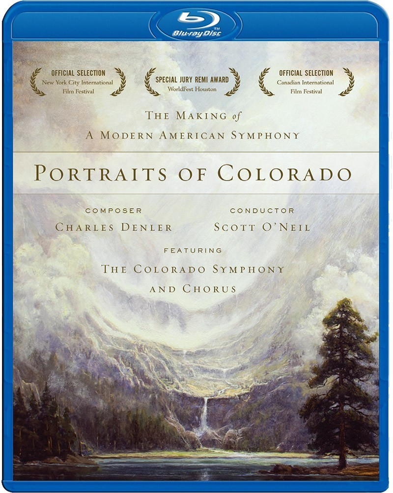 Portraits of Colorado: The Making of a Modern American Symphony - BLU-RAY